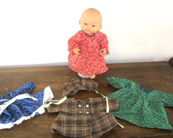 1980s Playmate Baby Doll -Including 4 Handmade Outfits