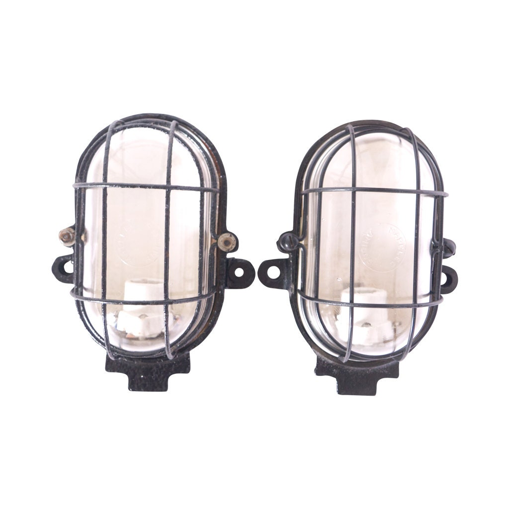 French Industrial Wall Lights : French Wall sconces Industrial lighting Hallway Wall Light
