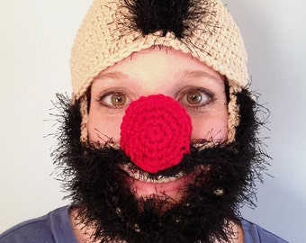 Wooly Willy Hat Pattern | Crochet Pattern | PDF Download
