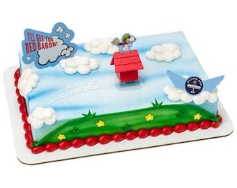 ... Peanuts Movie Cake Topper / Cake Kit / Peanuts Movie Cake Decoration