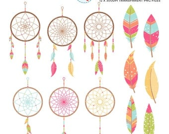 Clip Art Dream Catcher Clipart dreamcatcher clipart etsy dreamcatchers set clip art of feathers tribal dreams personal use small commercial instant download