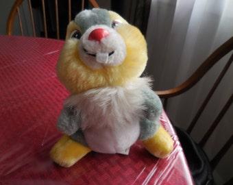 Vintage 1980s Thumper Disneyland Walt Disney World Stuffed Animal Early 1990s Bambi Character Bunny Rabbit