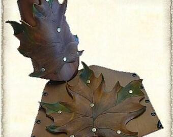 Set Leather Bracers