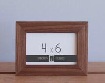 """4"""" x 6"""" Walnut Frame // 1-1/4"""" Width"""