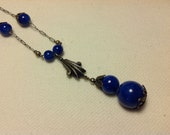 Beautiful Vintage Necklace in Blue