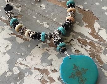 Western Jewelry Boho Jewelry Turquoise Jewelry Turquoise Necklace Tribal Jewelry