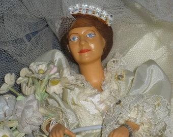 Vintage Peggy Nisbet Princess of Wales Diana Doll England