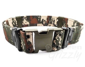 Survival Army Adjustable Tactical Belt Combat Rescue Rigger Camouflage Military, AT1