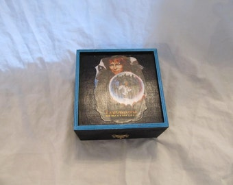 Labyrinth Keepsake Jewelry Stash Trinket Box