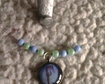 Sea Horse Charm Necklace (1)