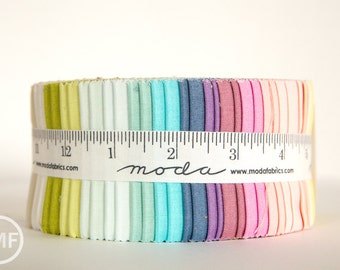 Ombre Jelly Roll, Vanessa Christenson, V and Co, Moda Fabrics, Precut Fabric Strips, 10801JR