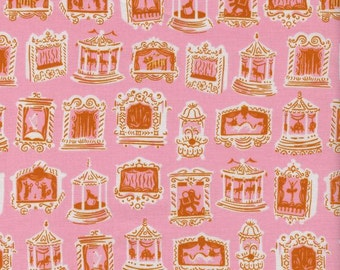 Penny Arcade Pink, Kim Kight, Cotton+Steel, RJR Fabrics, 100% Cotton Fabric, 3027-2