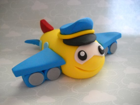 airplane cake topper airplane pilot edible airplane cake topper 1250