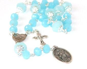Mary Untier of Knots Chaplet - Catholic Prayer Beads