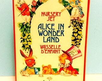 Vintage Alice in Wonderland Nursery Set