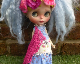 ARIES,  OOAK Custom Blythe Doll  (REDUCED).
