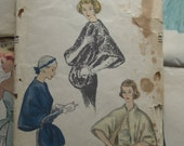Vintage Sewing Pattern 1950s Vogue Cape and Stole