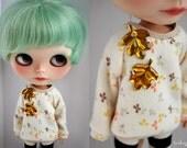 Shiny Leaf sweater for Blythe
