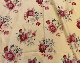 French vintage furnishing fabric
