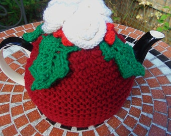 Christmas  Knitted Tea Cosy