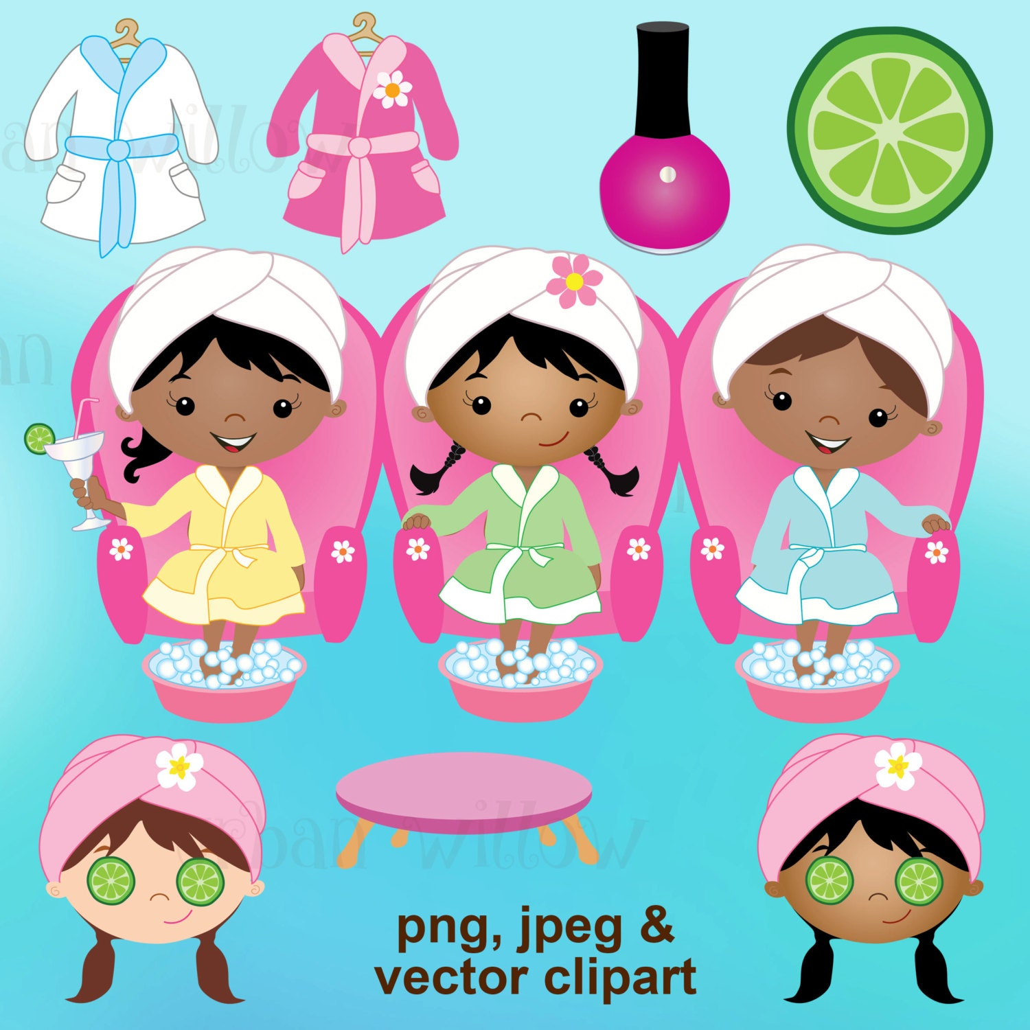 spa party clipart day spa clipart clipart bubbles