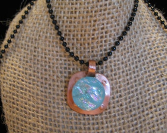 The Talisman is Turquoise - Necklace