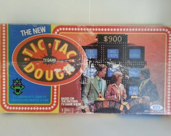 1978 The New Tic TacDough TV Showgame an Ideal Toy