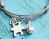 special education teacher gift, autism awareness bracelet, autism jewelry, gift for teacher, teacher appreciation gift, autism teacher