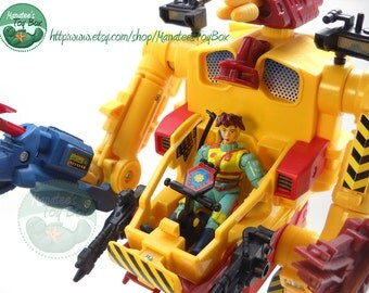 Exo Squad Maggie Weston with Field Repair E-Frame Complete 90s Action Figure JD