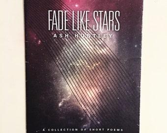 Fade Like Stars Chapbook - FREE SHIPPING