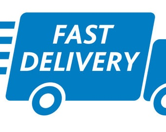 Fast Delivery/ Shipping