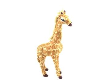 Vintage Germany Giraffe Toy . Decoration . Figurine