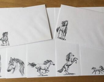 Horses Writing/Letter Set