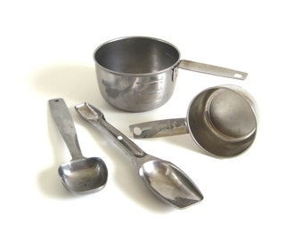Foley Measuring Cups 1/3 C or 1 Cup, or Foley Measuring Spoon Stainless Steel Kitchen Utensil Replacement Part