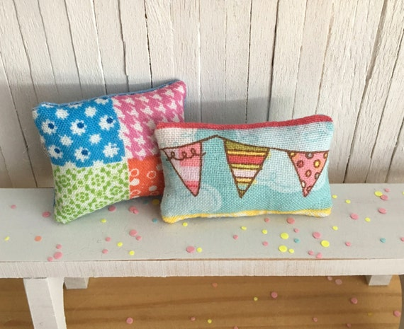 Etsy Shabby Chic Throw Pillows : Miniature Shabby Chic Throw Pillow Set