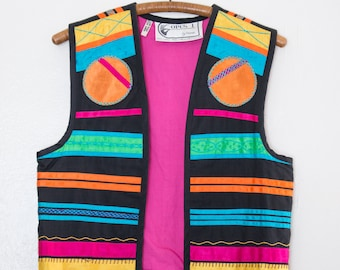 Mexico ribbon vest by Opus 1 - S/M