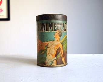 french advertising tin for tonimelcao