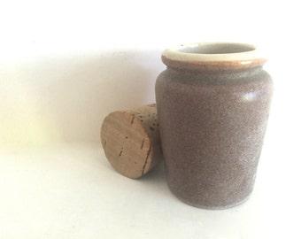 Antique Cream Jar / Crock