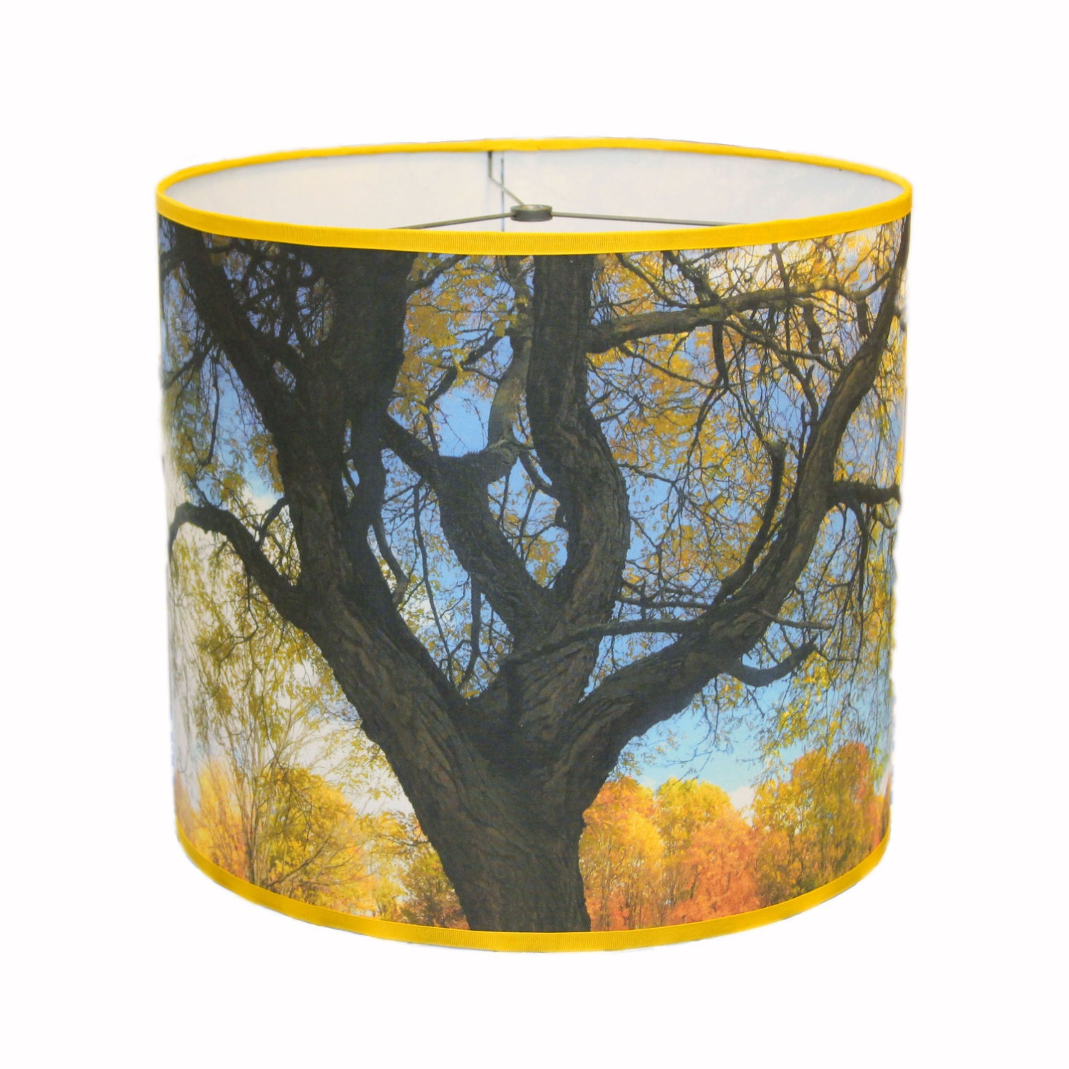 Large drum lamp shade drum shade lighting country lamp shade for Wide drum lamp shade