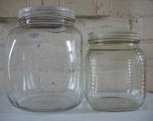 Vintage Hoosier Canister Jars