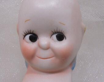 Bisque Kewpie Doll, Reproduction Kewpie Doll, 70-80s Kewpie Doll, Kewpie, Dolls, Bisque, Bisque Babies, Porcelain Kewpie, Kewpie Doll Kit...