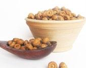 2.82oz 80gr mini acorn caps Mixed size Nature craft supplies Natural acorn Real acorn tops Gift decoration Bowl fillers