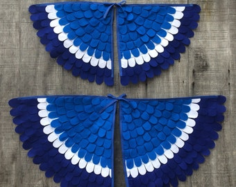 """Costume Wings """"ZAZU"""" inspired // Soft and flappable // Made in the USA"""