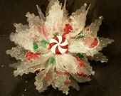 Christmas Candy Fascinator