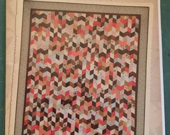 """Emma's Legacy quilt pattern by Miss Rosie""""s quilt company"""