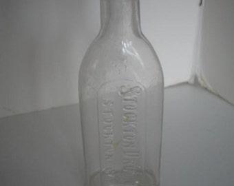 Vintage Perrin Stephenson No Percentage Pharmacy.. Vintage Bottle