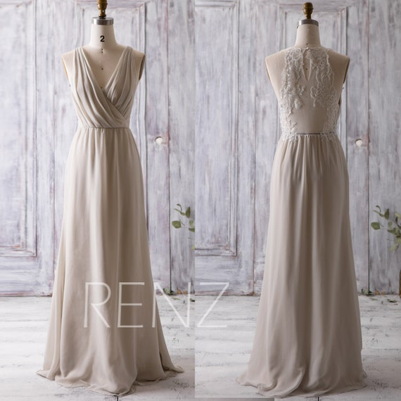 Y Neck Bridesmaid Dresses 80