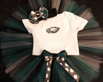 Philadelphia Eagles inspired tutu outfit