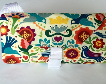 Folklorico Changing Pad Diaper Clutch