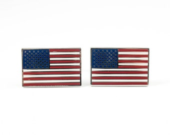 United States of America Flag Cufflinks
